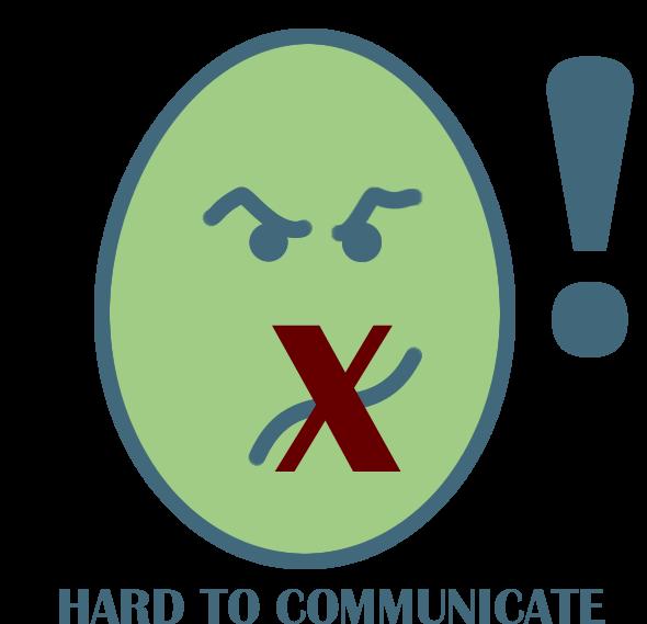 hard to communicate
